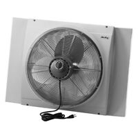 Air King 9166 20 Inch Blades Whole House 120V 3 Speed Window Fan, Gray