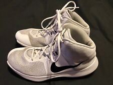 Nike Air Precision White Black Men's Size 8.5 VG Shoes Sneakers 8984555 100 Used