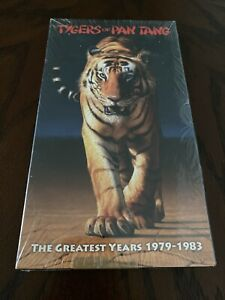 The Greatest Years 1979-1983 By Tygers Of Pan Tang (CD, Metal Mind)4-CD Box Set
