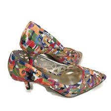 J. Reneé Winsett JJ Floral Cutout pumps heels super pretty shoes size 8M