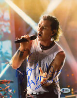 GAVIN ROSSDALE SIGNED AUTOGRAPHED 8x10 PHOTO LEAD SINGER OF BUSH BECKETT BAS