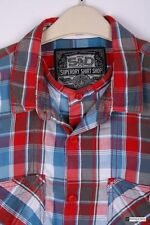 Superdry Cotton Regular Collar Casual Shirts & Tops for Men