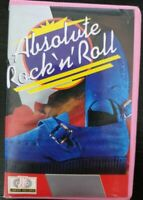 Absolute Rock 'n' Roll  Music Cassette Tape Album 1986 In Pink Mini Video Tape