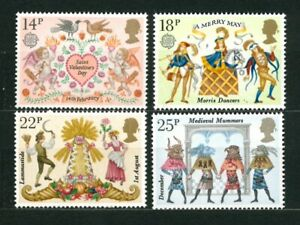 UNITED KINGDOM GREAT BRITAIN 1981 - Folklore - MNH