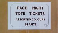 Race Night Tickets - full set 6400 tickets