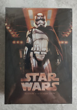 Star Wars The Complete Movie Series Seasons 1-9 (Dvd,15-Disc) New!