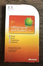 Microsoft Office Home And Student 2010 Product Key Card Download USED PREOWNED