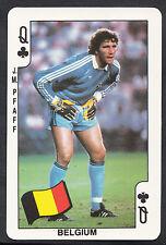 Dandy Gum Football Card - Mexico World Cup 1986 - Belgium - J.M.Pfaff