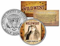 ANNIE OAKLEY * Wild West Series * JFK Kennedy Half Dollar U.S. Coin
