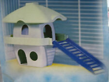FOP Italian Designed Mouse Hamster 2 Storey House Residence -Fits most Cages