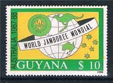 Guyana 1989 Scout Jamboree 1v # 2012 MNH