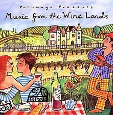 Putumayo Presents: Music from the Wine Lands - NEW CD