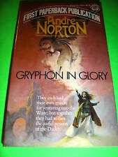 GRYPHON IN GLORY ~ BY ANDRE NORTON ~ 1ST BALLANTINE Paperback