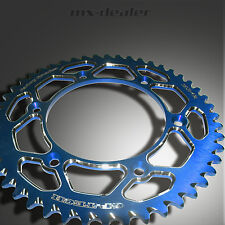 Gp-Tech Factory Sprocket rueda dentada azul 51z Kawasaki KX kxf kx-f 125 250 450