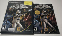 Star Wars Battlefront II 2 Sony PlayStation 2 PS2 Case / Manual Only No Game