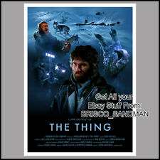 Fridge Fun Refrigerator Magnet THE THING MOVIE POSTER Version C 80s Horror SciFi