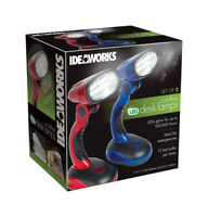 IDEAWORKS  As Seen On TV  Gloss  Assorted  Cordless Desk Lamp  7-1/2 in.