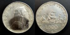 Italie 500 Lire 1959 Argent / Silver 11.10gr