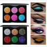 Glitter Shimmer Eye Shadow Eyeshadow Palette Makeup Powder Flexibility Lasting