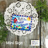 Poppy * Mini Sign Wood Ornament Family DecoWords Year Round Decor USA New in Pkg
