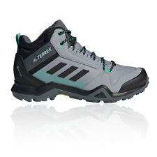 adidas Womens Terrex AX3 Mid GORE-TEX Walking Boots Grey Sports Outdoors