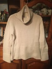 Pull Col Roulé 3 Suisses Beige Taille 38/40