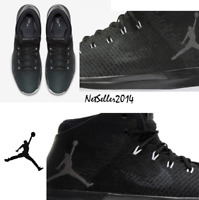 SZ 10 COOL 🏀 Nike Air Jordan XXXI 31 Men's Black Cat Anthracite 845037-010 $185