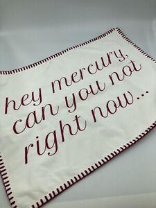 Thro by Marlo Lorenz Throw Pillow Case 14x20  Mercury Retrograde Set Lot New NWT