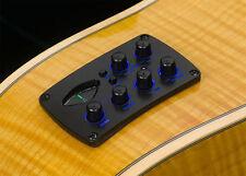 ACME Bs3m Acoustic Guitar Pickup EQ Mic+piezo LCD chromatic tuner