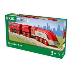 BRIO 33557 Train Streamline Train 3pc Brand New