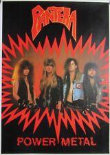 PANTERA `Power Metal` big poster