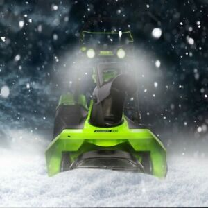 """Greenworks PRO 60V 20"""" BRUSHLESS SNOW BLOWER SNOW REMOVER (TOOL ONLY)"""