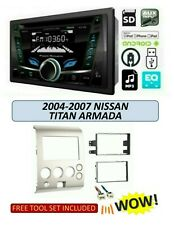 Fits 2004-07 Nissan Titan Armada STEREO KIT BLUETOOTH USB AUX MP3