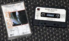 Cassette Audio Mory Kante - A Paris - K7