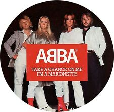 """ABBA """"take a chance on me / i'm a marionette"""" limPicture Vinyl Single 7""""NEU 2017"""