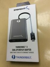 Sabrent Thunderbolt 3 Dual DP Display Adapter