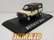 RE4 Voiture 1/43 M6 norev/universal Hobbies Renault Rodéo 5 - 1982