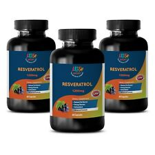 Potent Ingredients - Resveratrol Supreme 1200 - Antioxidant - 3 B 180 Ct