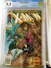 Uncanny X-Men #266 - CGC 8.5 (Newsstand) - 1st full app Gambit