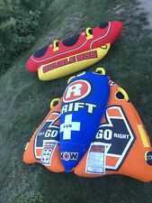 """""""Double Dog� & """"Drifter� Airhead Inflatable Towables - 2 for 1 - Worth Over $250"""