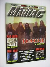 METAL MANIAC #02 / 2007 - DOMINE - MASTERPLAN - MEAT LOAF - PAIN OF SALVATION