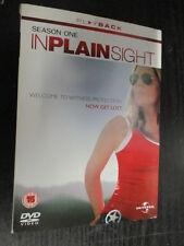 ***In Plain Sight - Season 1 - Complete [DVD] - (REGION 2) Free Post***