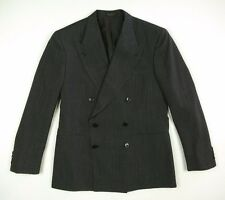 Ralph Lauren RRL Double RL Italy 100% Wool DB Peak Lapel Blazer Jacket Men's 40S