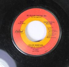Pop Promo 45 Gilles Marchal - Ne Pleure Pas Ma Mie / Cry No More Maria On Capito