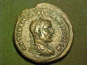 Rare Roman AE25 PHILIP ll of Nisibis Mesopotamia 247-249 A.D.