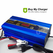 12V 7A 12A 20A 40A Smart Lead Acid Car Battery Charger Engine Start 220V AC