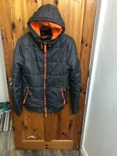 Superdry Mens Hooded Down Winter Jacket UK SIZE small