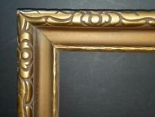 11 x 14  Arts /& Crafts Style Picture Frame HandApplied Gold Metal Leaf