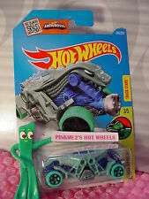Case J/K 2016 i Hot Wheels DOUBLE DEMON #248✰lgt Green/blue✰DINO RIDERS