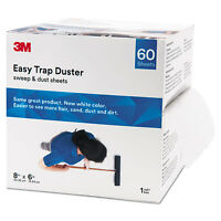"3M Easy Trap Duster 8"" x 30ft White 60 Sheets/Box 59152W"
